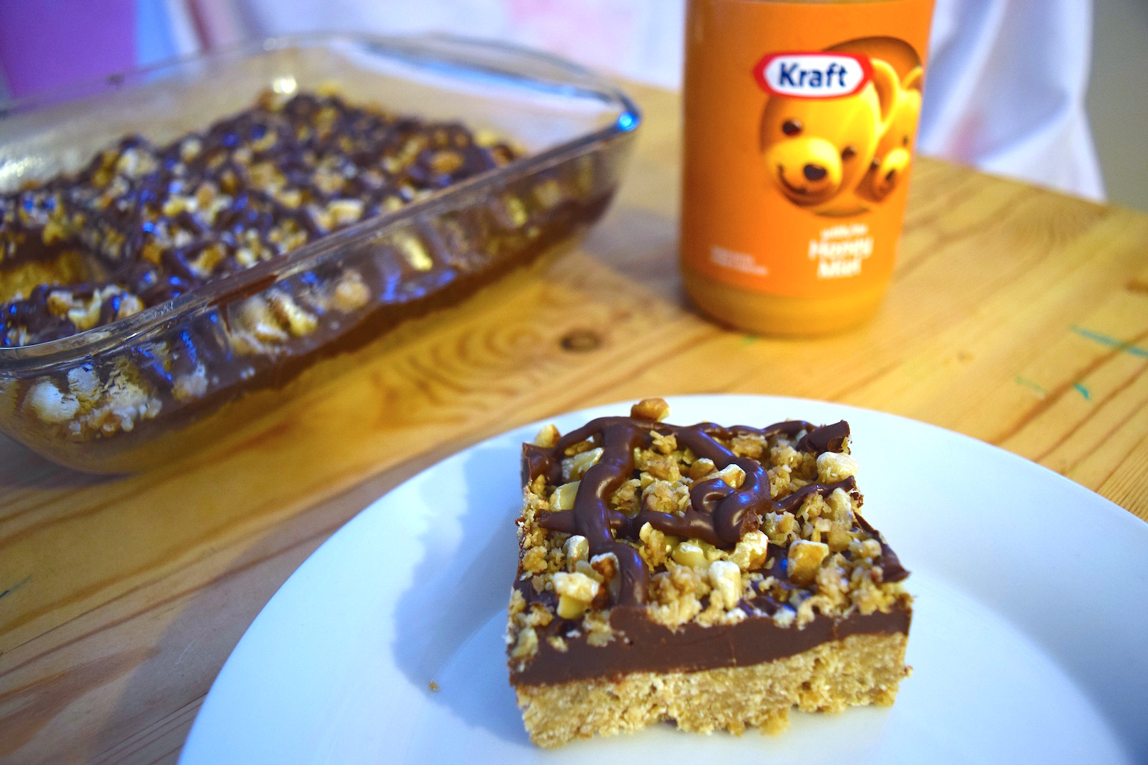 No-Bake Kraft Peanut Butter with Honey Bars
